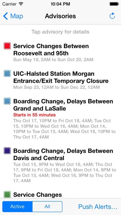 iTrans Chicago CTA screenshot-3