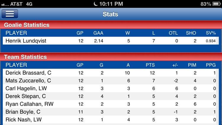 New York R Hockey Live screenshot-4