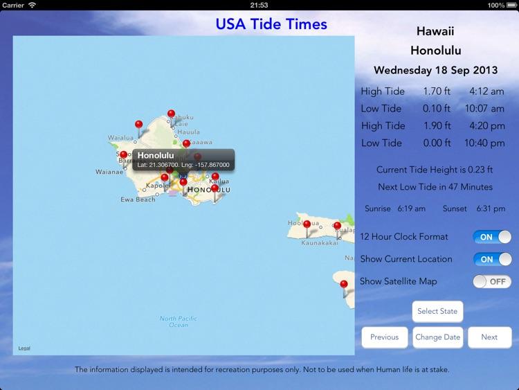 USA Tide Times Pro screenshot-4