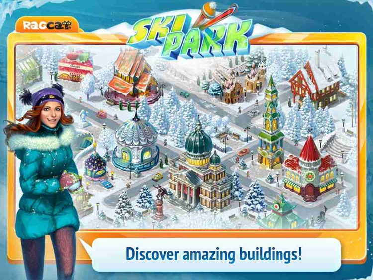 Ski Park HD: Build Resort and Find Objects! screenshot-3