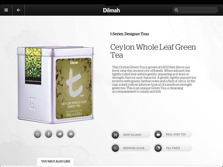 Dilmah Tea screenshot-3