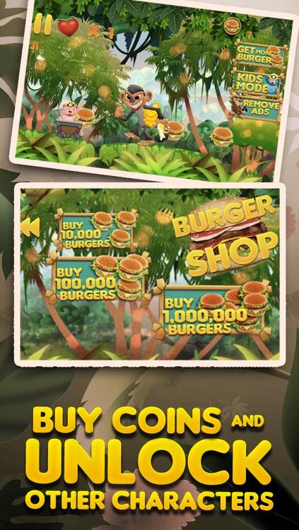 Burger-Crazy Bears Battle of the Super Evil Cookie Monkey PRO screenshot-4