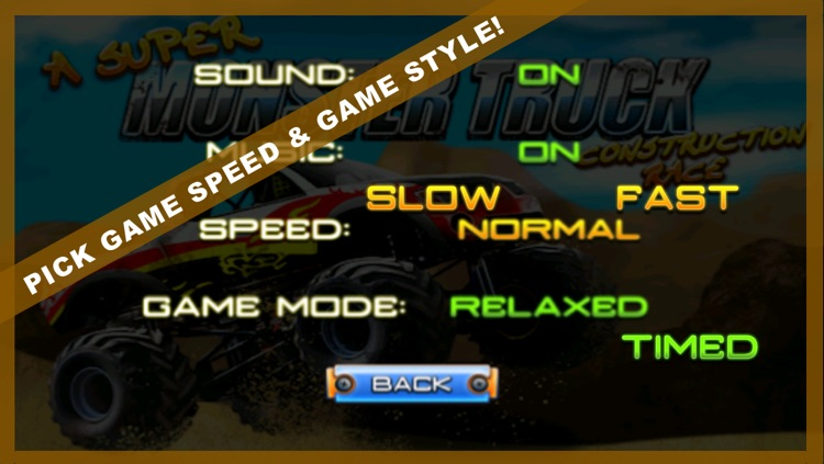 A Super Monster Truck Construction Race: Best Simulator Delivery Racing Game Free screenshot-3