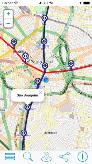 San Paulo Metro Map Sao Paulo Transport Map offline on the App Store