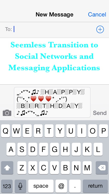 Cool Text Art - Add new style to your messages and status updates with one click!