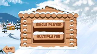 Carreras de nieve 2 : snowboarder superiores gratis los mejores juegos de arcada jinete con un fresco divertido multijugador saltos de esquí - la mejor diversión snowboard correr deporte dibujos animados App para NiñosCaptura de pantalla de3
