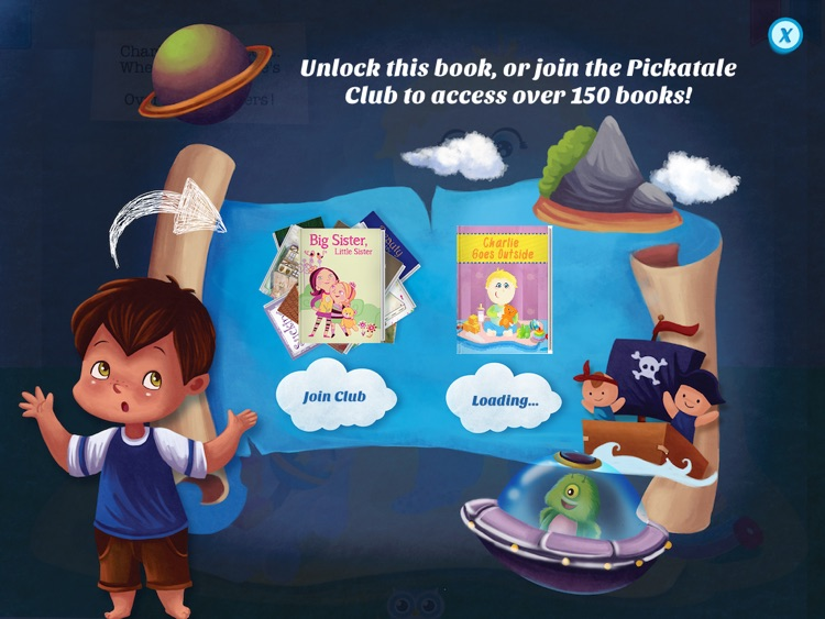 Charlie Goes Outside - Have fun with Pickatale while learning how to read! screenshot-4
