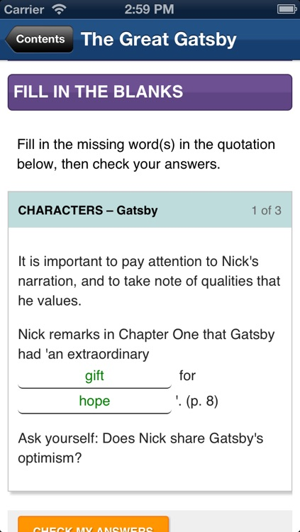 The Great Gatsby York Notes AS and A2 screenshot-2