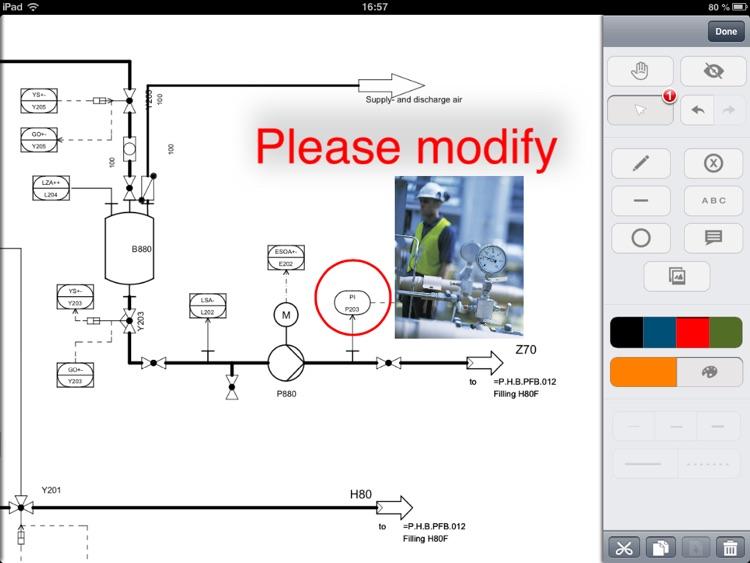 COMOS Mobile Document Review