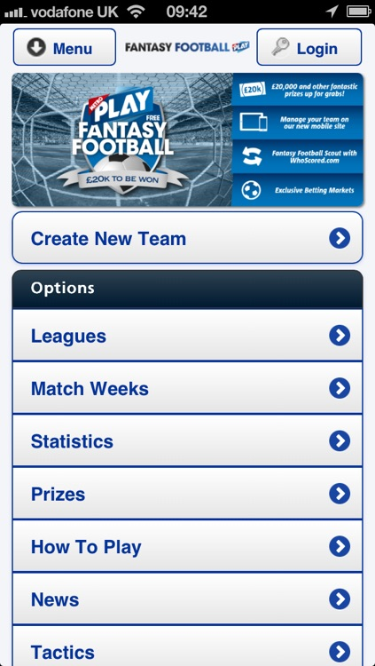 Fantasy Football from Metro screenshot-1