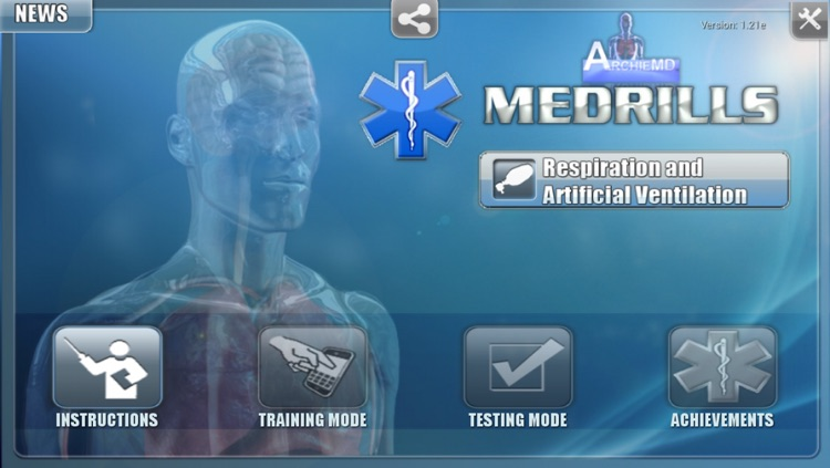 Medrills: Respiration and Artifical Ventilation screenshot-0