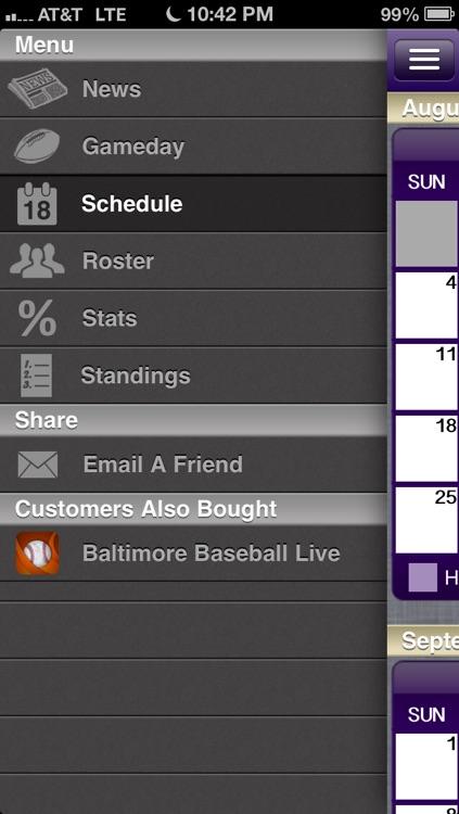Baltimore Football Live screenshot-3