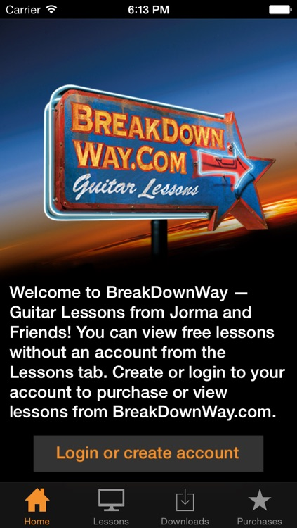 Lessons from BreakDownWay