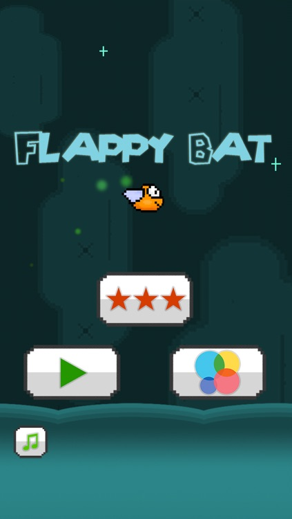 Flappy Bat - The Adventure of a Tiny Bird Bat