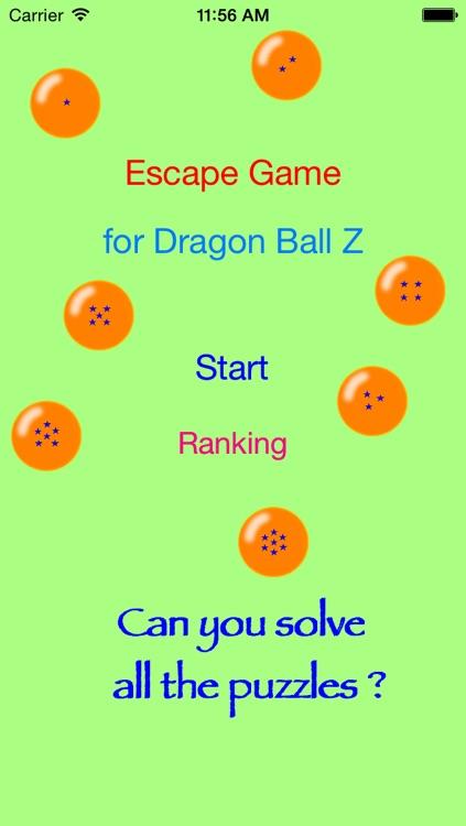 Escape Games for Dragon Ball Z