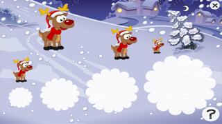 Screenshot of Gioco per i bambini in età 2-5 sul Natale: puzzles e giochi per la scuola materna, scuola materna o asilo nido con Babbo Natale, renne Rudolph, doni, e un sacco di neve. Gratis, nuova, apprendimento, divertimento!!5