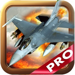 Aerial Jet Shooting War: Pro Air Combat Fighter Sim Game HD