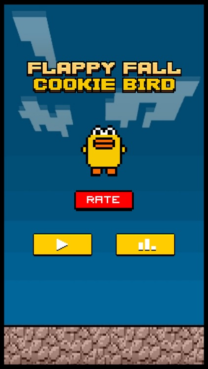 Cookie Fall Out - Addicting Flappy Cookie Bird Games For Kids Free screenshot-3