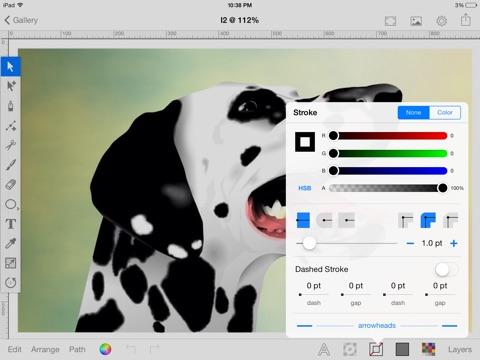 Screenshot #4 pour Inkbot - Inspiring Vector Graphics Editor