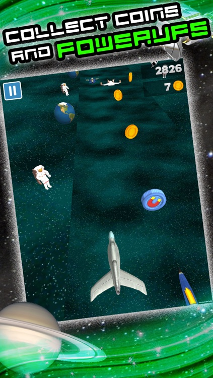 3D Space Craft Racing Shooting Game for Cool boys and teens by Top War Games FREE screenshot-3