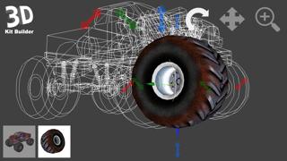 3D Kit Builder (Monster Truck)のおすすめ画像1