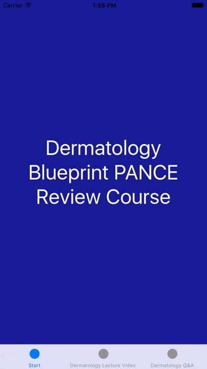 Dermatology Blueprint PANCE Review Course