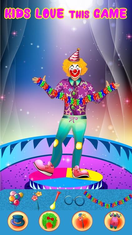 Crazy Circus Clowns - Dress Up Game screenshot-3