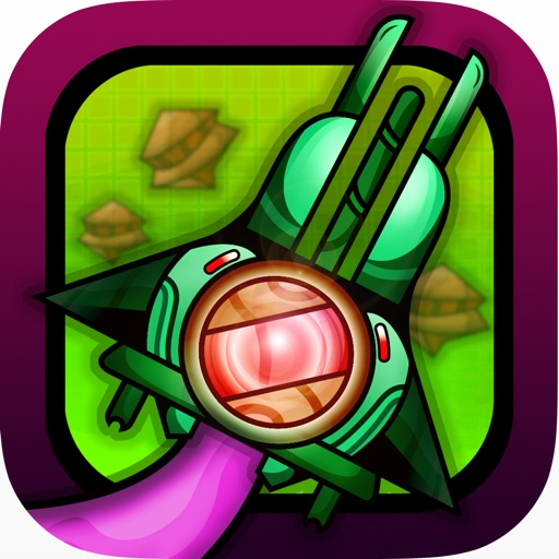 Intergalactic Alien Clash - Draw your own spaceship icon