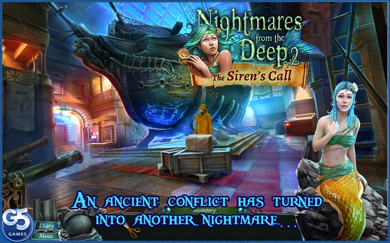 Nightmares from the Deep™: the Siren's Call screenshot 1