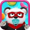 赤ん坊のパンダベアーズキャンディレイン - 版無料ゲームジャンピング楽しいキッズ! Baby Panda Bears Candy Rain - A Fun Kids Jumping Edition FREE Game! - iPhoneアプリ