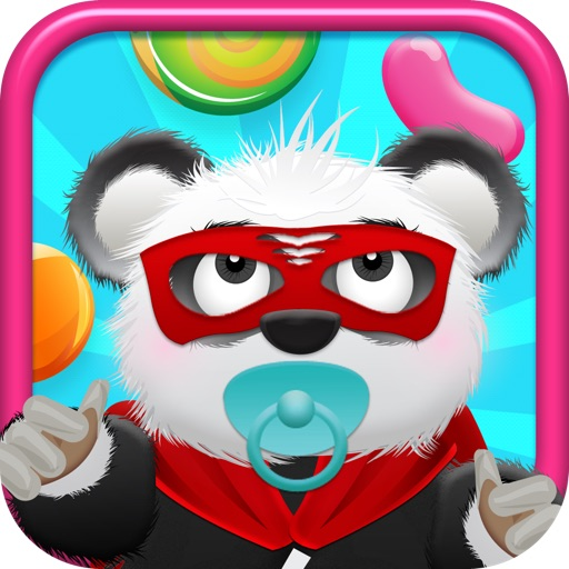 Baby Panda Bears Candy Rain - A Fun Kids Jumping Edition FREE Game!