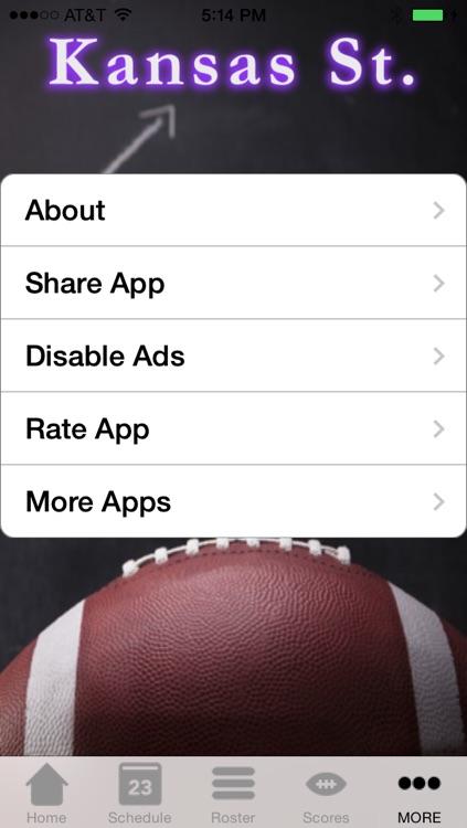 College Sports - Kansas State Football Edition screenshot-3