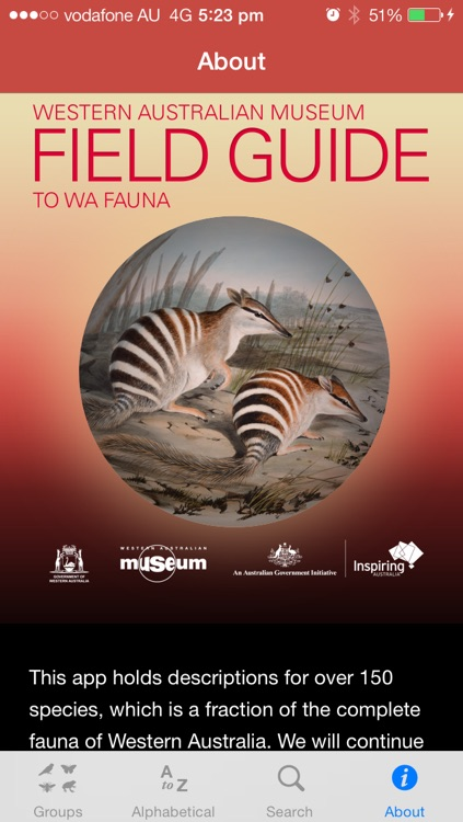 Field Guide to Western Australian Fauna