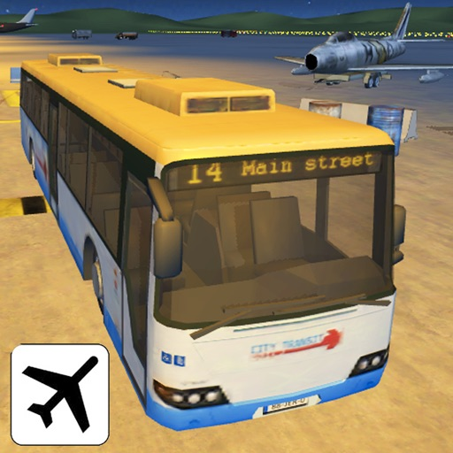 Airport Bus Parking - Realistic Driving Simulator Free