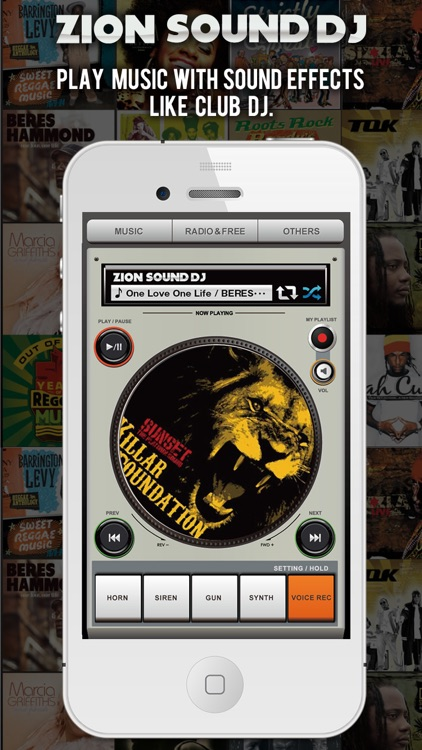 Zion Sound Dj -Music Player With Sampler & Playlists-