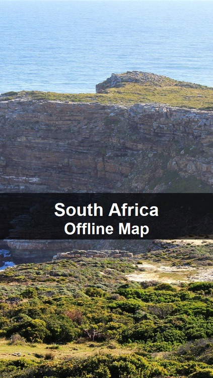 Offline South Africa Map - World Offline Maps