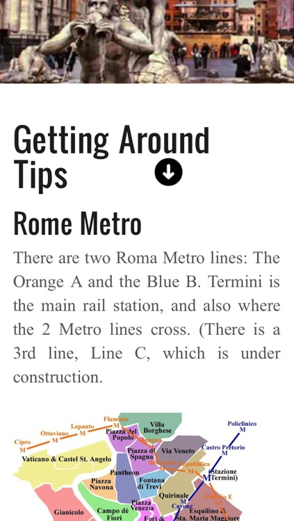 Rome travel guide and offline map, metro Rome subway, traffic maps Rome airport transport, city bus Rome guide & Vatican Rome trip advisor screenshot-4