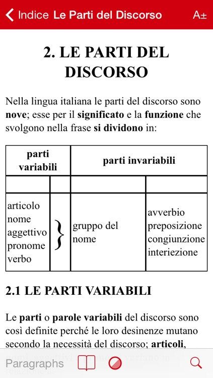 Grammatica Italiana screenshot-1