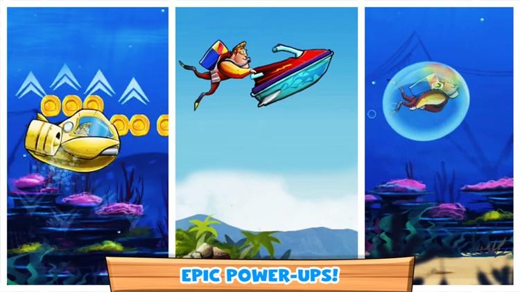 Speedy Scuba Steve : A Perilous Swimming Side Scroller!