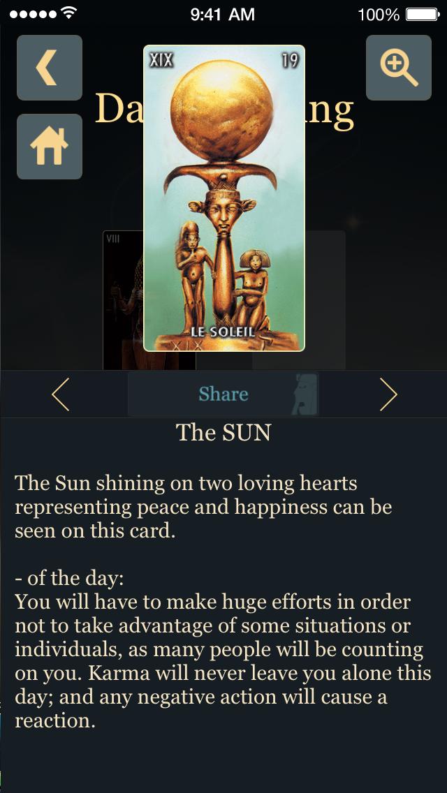 Egyptian Tarotのおすすめ画像5