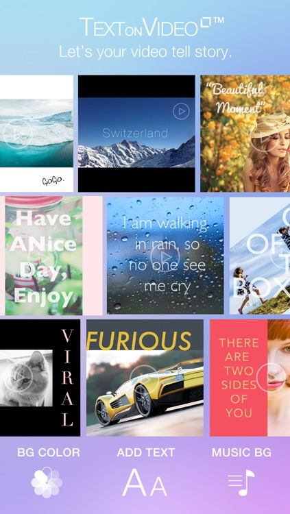 Text on Video Square FREE Create Outstanding Videos Texts