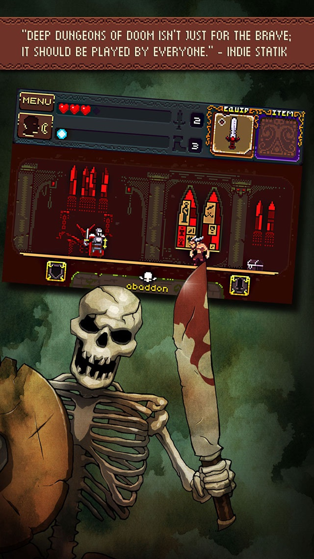 Deep Dungeons of Doom screenshot 4