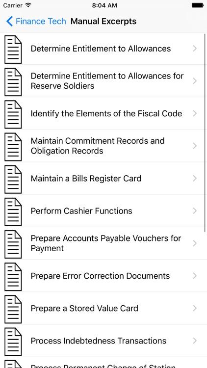 36B Financial Management Technician screenshot-4
