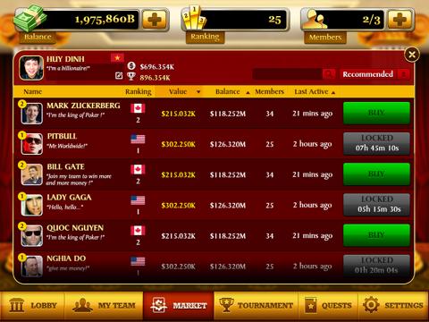 Video Poker: World Tournament! screenshot