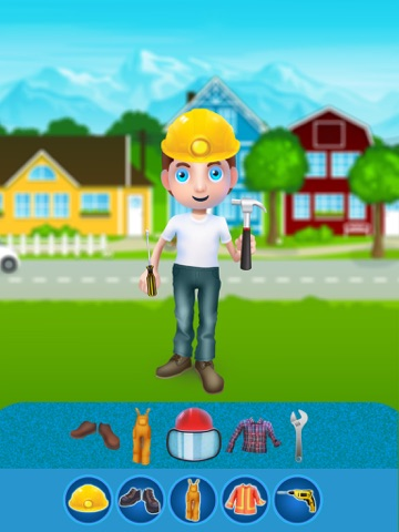 Dress Up Builder Bill - Fun Kids Game-ipad-4