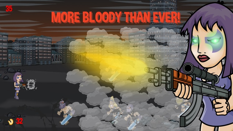 Bloody Mary Shooter 2 - Target, kill and destroy horde of darkness. screenshot-3