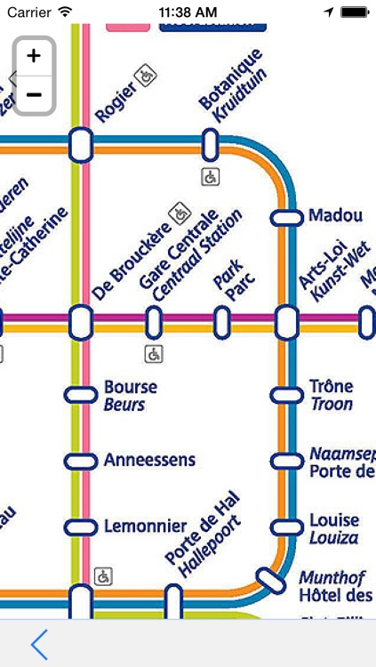 Offline Map Brussels - Guide, Attractions and Transport
