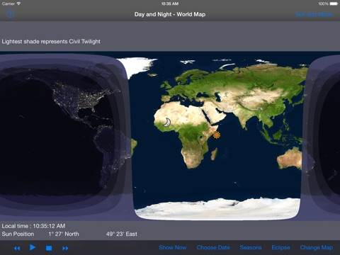 Day and night world map hd app price drops screenshot 1 for day and night world map hd gumiabroncs Image collections
