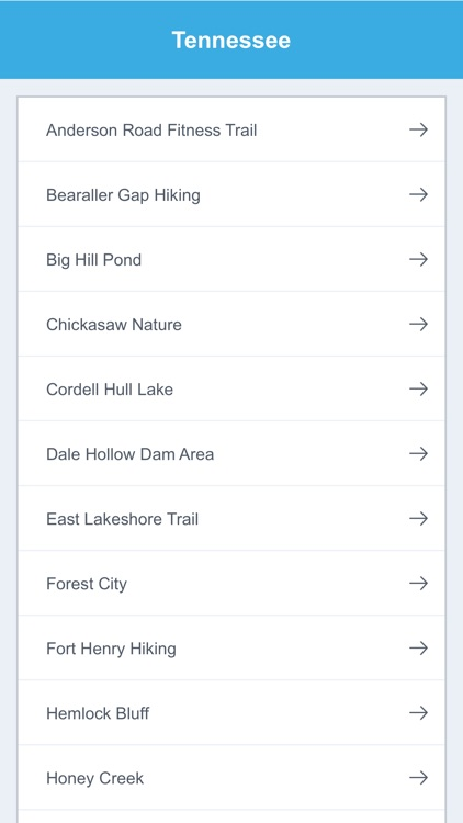 Tennessee National Recreation Trails screenshot-1