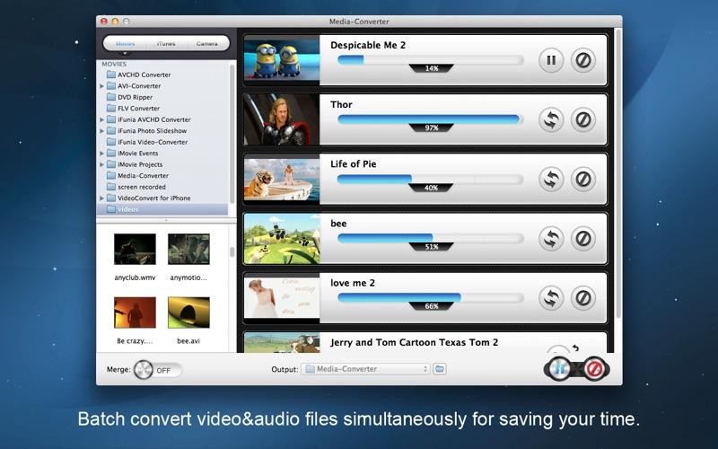 iFunia Media Converter Screenshot